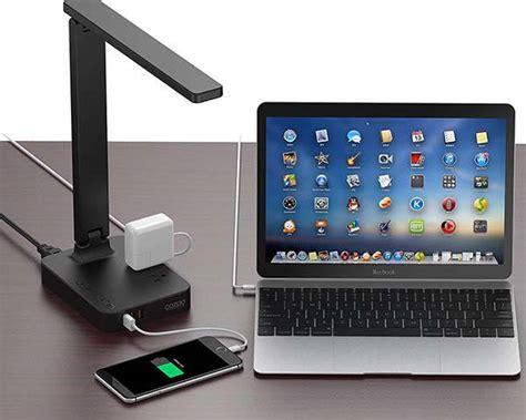 cozoo led desk lamp   usb ports   ac outlets
