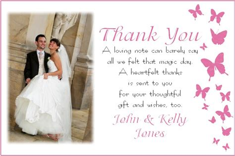 thank you wedding notes wedding thank you card thank you cards memory moments