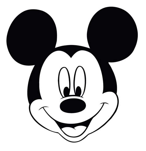 minnie mouse face coloring pages mickey mouse head