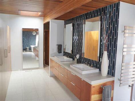mid century modern design bathroom ideas