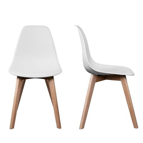 chaise en bois blanc pas cher maison design hosnya