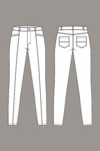 Boom Boom Jeans Size Chart Digital Jamie Jeans Sewing Pattern Shop Oliver S