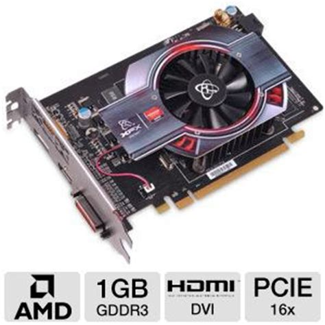 Xfx  Radeon Hd 6750 1gb Ddr3 Pci Express Graphics Card
