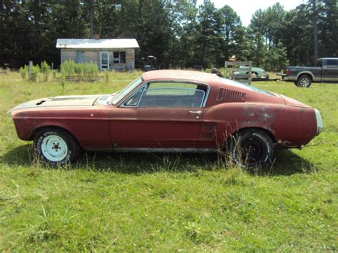 1967 Ford Mustang Gt Fastback *project* 67 Eleanor Rare C