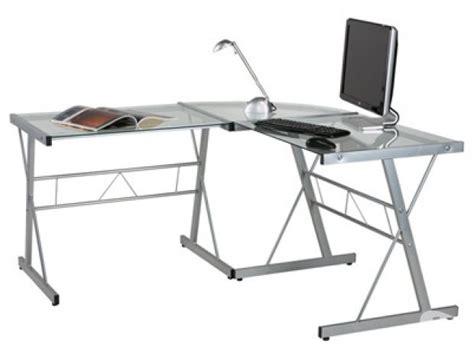 bureau angle en verre bureau angle verre clasf