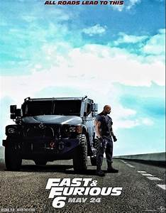 New Movie Trailer and Poster for The Rock's Fast and Furious 6