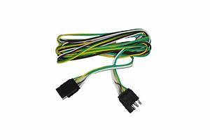 Abn 4 Way 4 Pin Plug Flat 20 Gauge Trailer Light Wiring