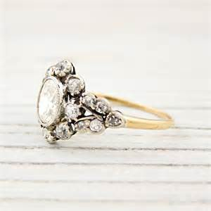 vintage gold engagement rings antique gold engagement rings ipunya