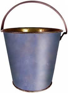 Wooden Bucket Clip Art