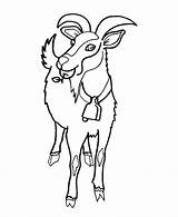 Coloring Goat Herd Goats Ram Wild Animal Head Animals Draw Cows Cliparts Colouring Coloringhome Popular Honkingdonkey sketch template