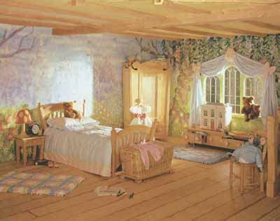 5 Wonderful Fairy Tale Bedrooms