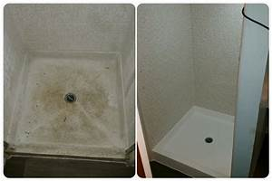 Don39t Replace That Worn Out Fiberglass Shower Pan Reglaze