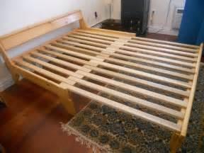 Futon Bed Frame Plans