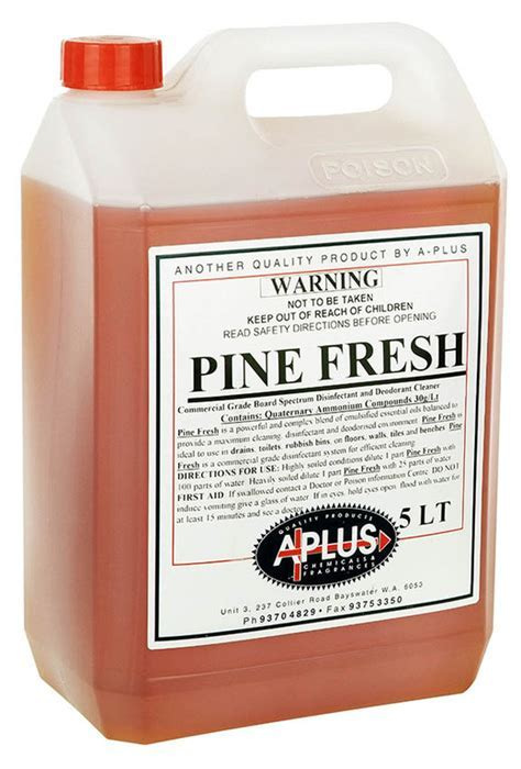 Pine Fresh   A Plus   Chemicals Western Australia