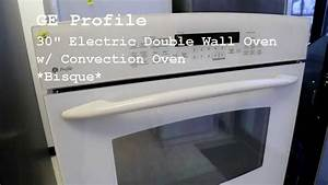Ge Profile 30 U0026quot  Electric Double Wall Oven