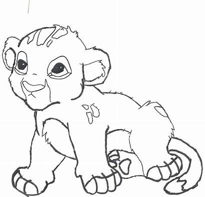 Lion Pages Coloring Cartoon Colouring Printable Getcolorings