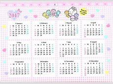 Hello Kitty Calendar 2018 Printable Calendar 2018