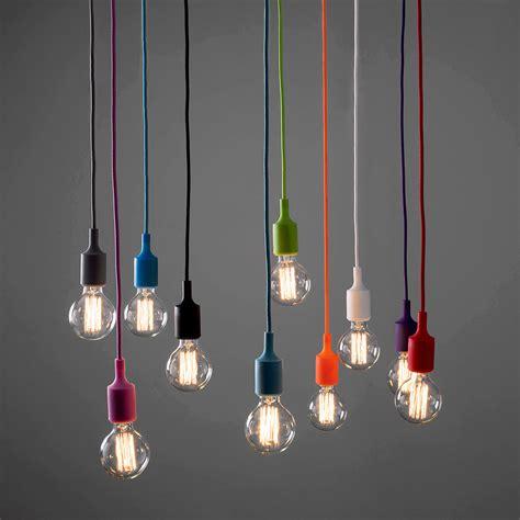 vintage pendant modern ceiling fabric cable pendant l holder light