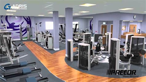 Gym Interior : Gym Interior Visualisation