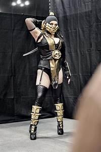 Scorpion. Female version. Mortal Kombat cospaly. Bethany ...