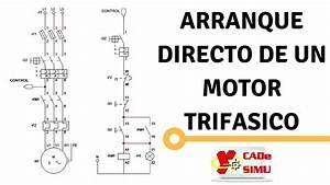 Diagrama Y Explicaci U00f3n   U0026quot Arranque Directo De Un Motor
