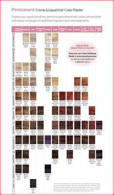 ion color brilliance chart hair color  cut ideas