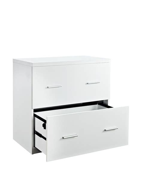 Altra White Filing Cabinets Home Office Furniture Filing