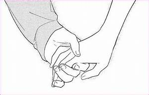 Drawing Of A Girl And Boy Holding Hands | Simple Image Gallery