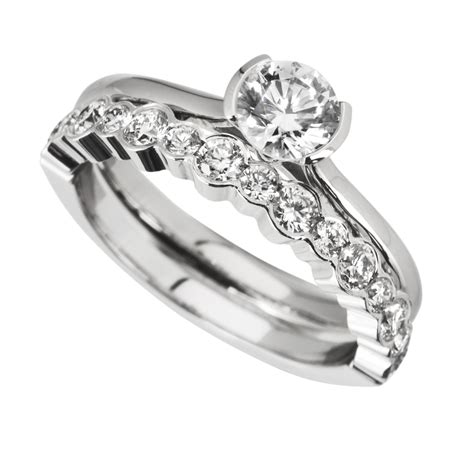 images of wedding rings sets rub engagement
