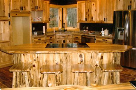 rustic log kitchen cabinets 4 materials for rustic kitchen cabinets midcityeast 5010