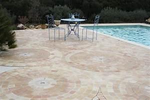 Carrelage Tour De Piscine : rosace carrelage carreau plage de piscine fabrication ~ Edinachiropracticcenter.com Idées de Décoration