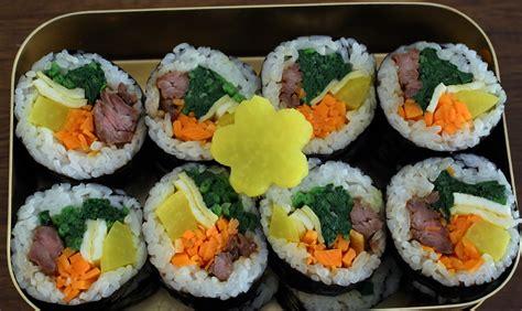 korean kimbap gimbap recipe maangchi com