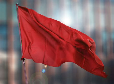 valentines day brings red hearts  red flags