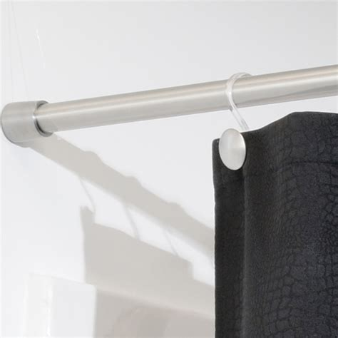shower curtain tension rod large in shower rods