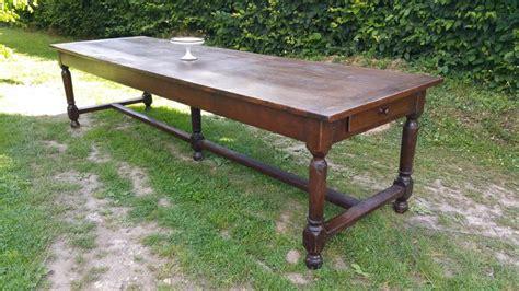 Grande Table De Ferme Ancienne En Chêne