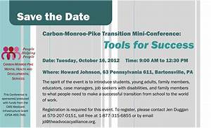 carbon monroe pike transition mini conference the With conference save the date template