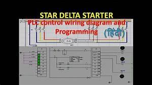 Star Delta Starter Plc Ladder Diagram Control Circuit Plc