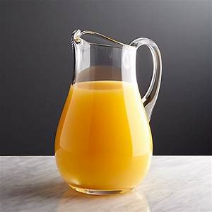 All, Purpose, Clear, Glass, Pitcher