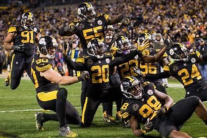 Steelers Defense Pose Kovacevic Bohunk Thinks Digs