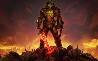 Doom Eternal 5k Wallpapers 4k Resolution Person
