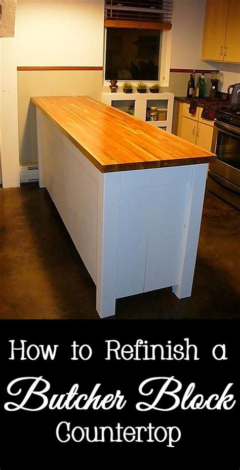 How To Refinish Butcher Block Countertops by 52 Best Images About Kitchens And Baths On