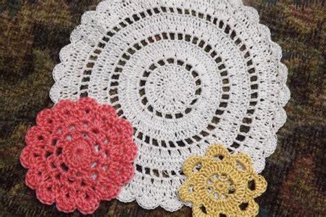 vintage end tables free crochet doily patterns lovetoknow