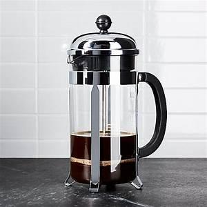 French Press Kaffeepulver : bodum chambord 34 ounce french press reviews crate and barrel ~ Orissabook.com Haus und Dekorationen