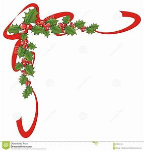 X-mas corner stock illustration. Image of leaf, holidays ...