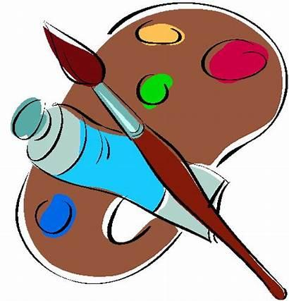 Malen Schilderen Cliparts Clipart Basteln Kinder Activiteiten