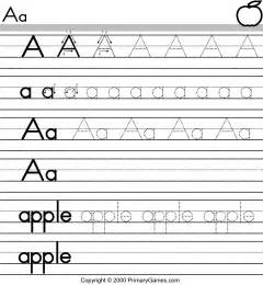 Free Printable ABC Worksheets