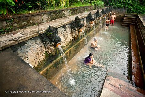 banjar hot springs  bali bali waterfalls springs