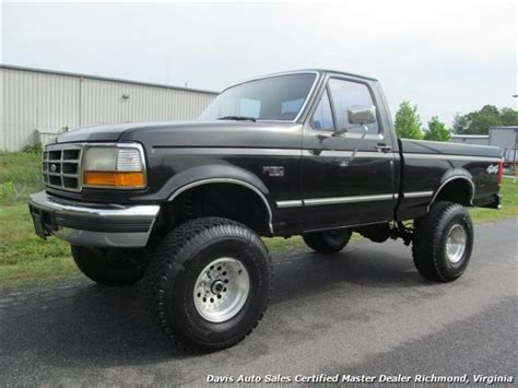 1996 Ford F 150 Specifications by 1996 Ford F 150 Xlt Manual 4x4 Regular Cab Bed
