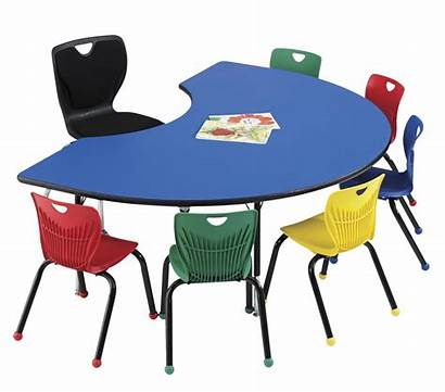 Classroom Table Kidney Activity Select