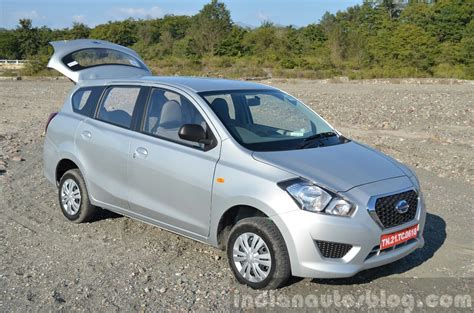 Review Datsun Go by Datsun Go Front Quarter Boot Open Review